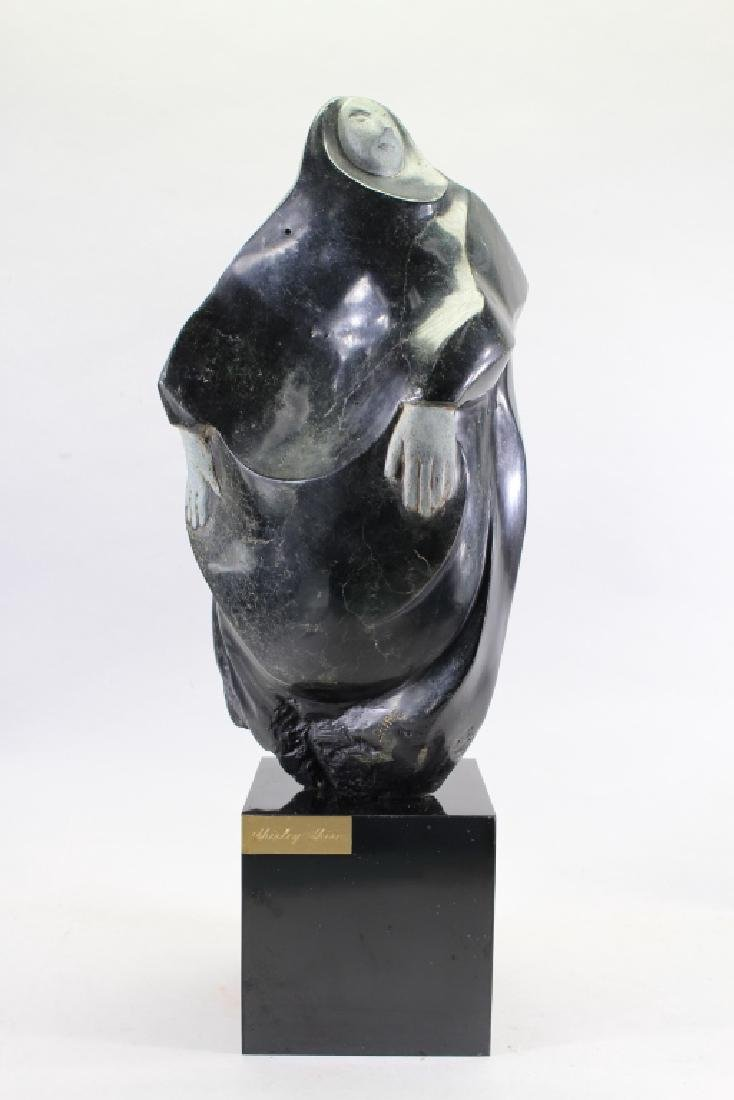 Shirley Shire, Figural Carved Stone Sculpture