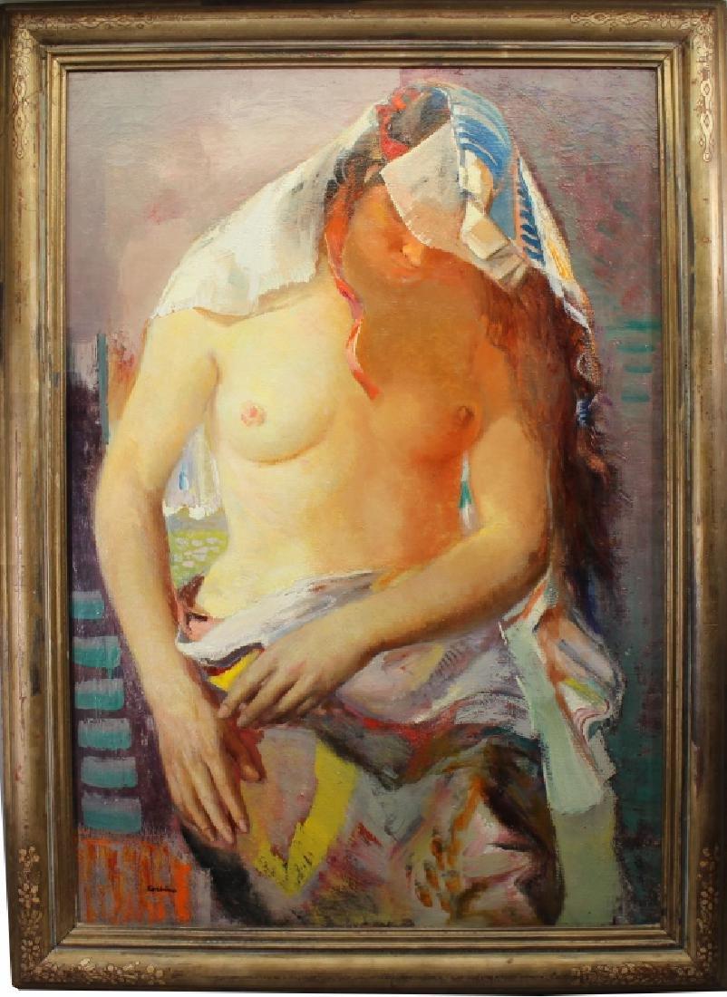 "Jon Corbino (1905 - 1964) ""Semi Nude"""