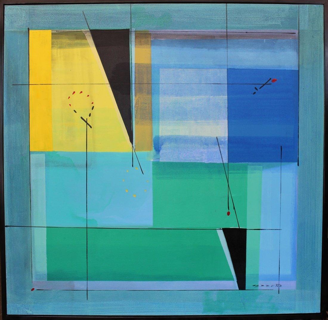 Antonio Carreno (Born 1963), Large Abstract O/C