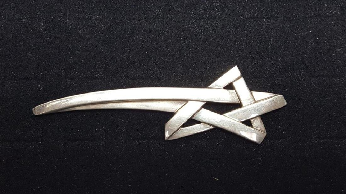 Signed Paloma Picasso Tiffany & Co. Sterling Star Pin