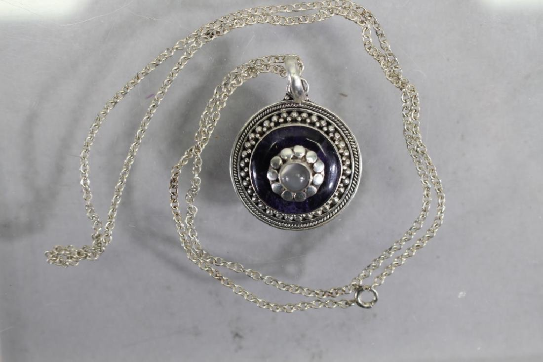 Silver Necklace with .925 Silver Pendant