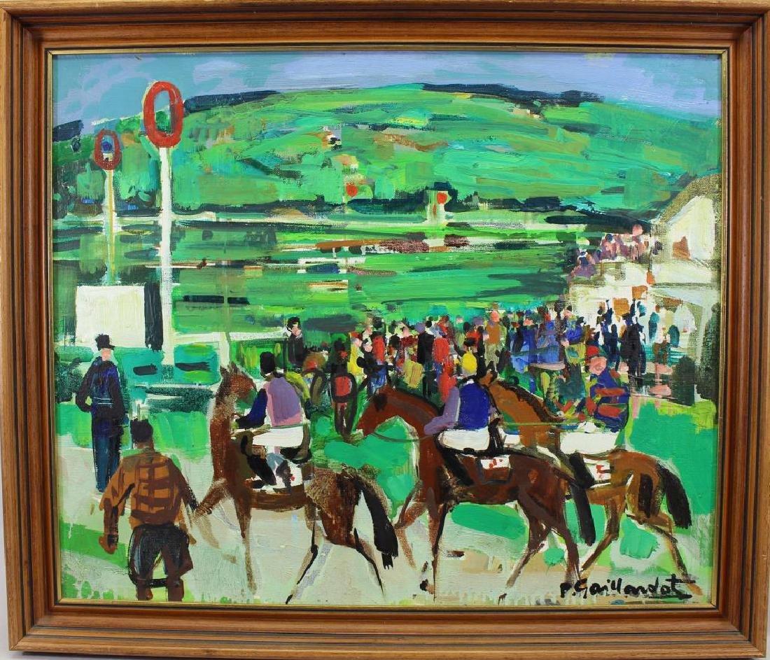 "Pierre Gaillardot (France, 1910-2002) ""Deauville"""