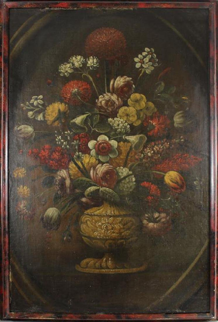 Dutch School late 18th C Old Master Still Life Painting