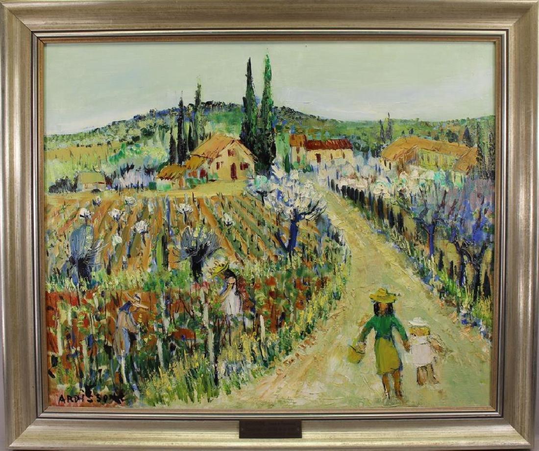"""Vines in Provence"" Yolande Ardissone (born 1927)"