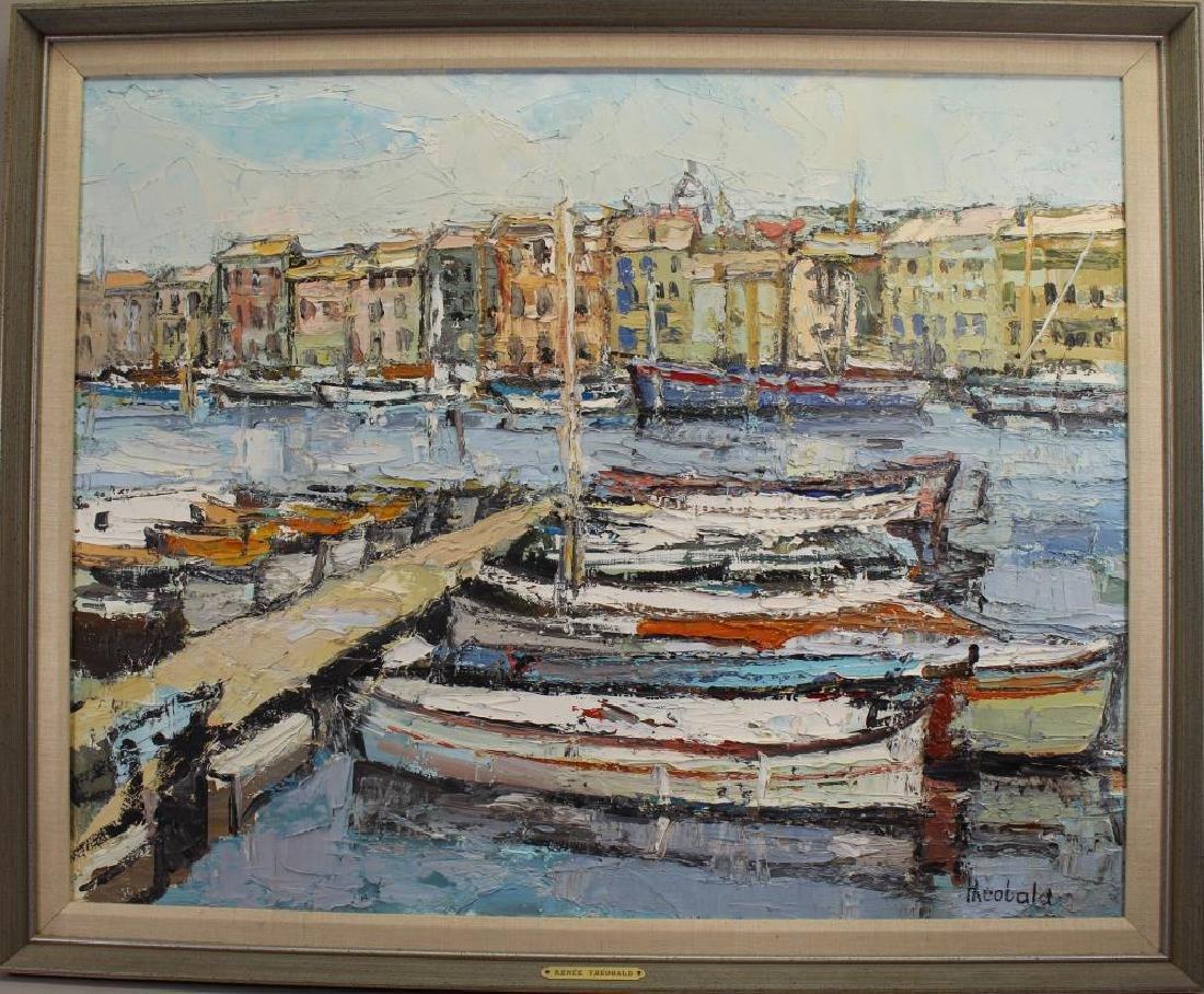 """St Tropez"" Renee Theobald (born 1926)"