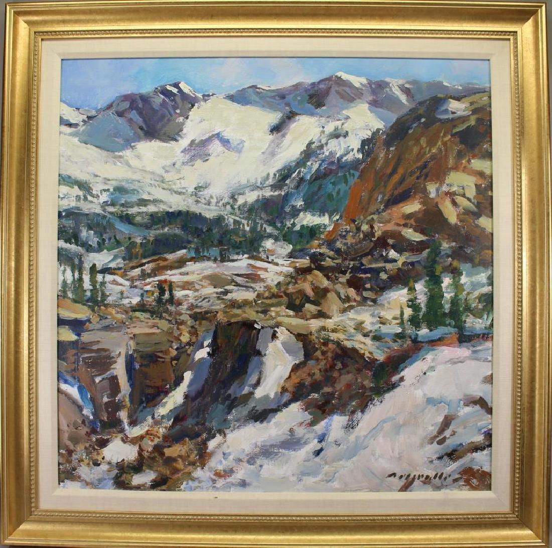 """Near Mt. Whitney"" Charles Movalli (1945 - 2016)"