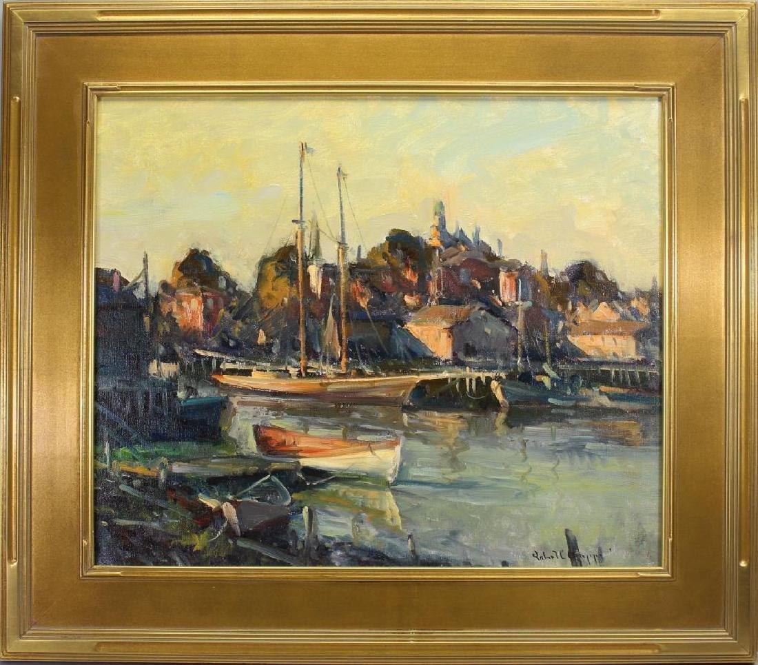 """""""Port of Gloucester"""" Robert Gruppe (born 1944)"""