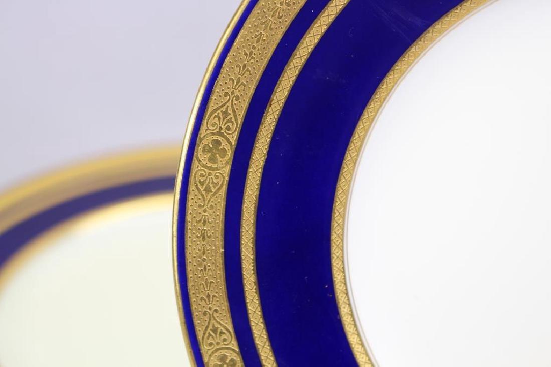 (12) Tiffany & Co. Gilt Porcelain Dishes - 2
