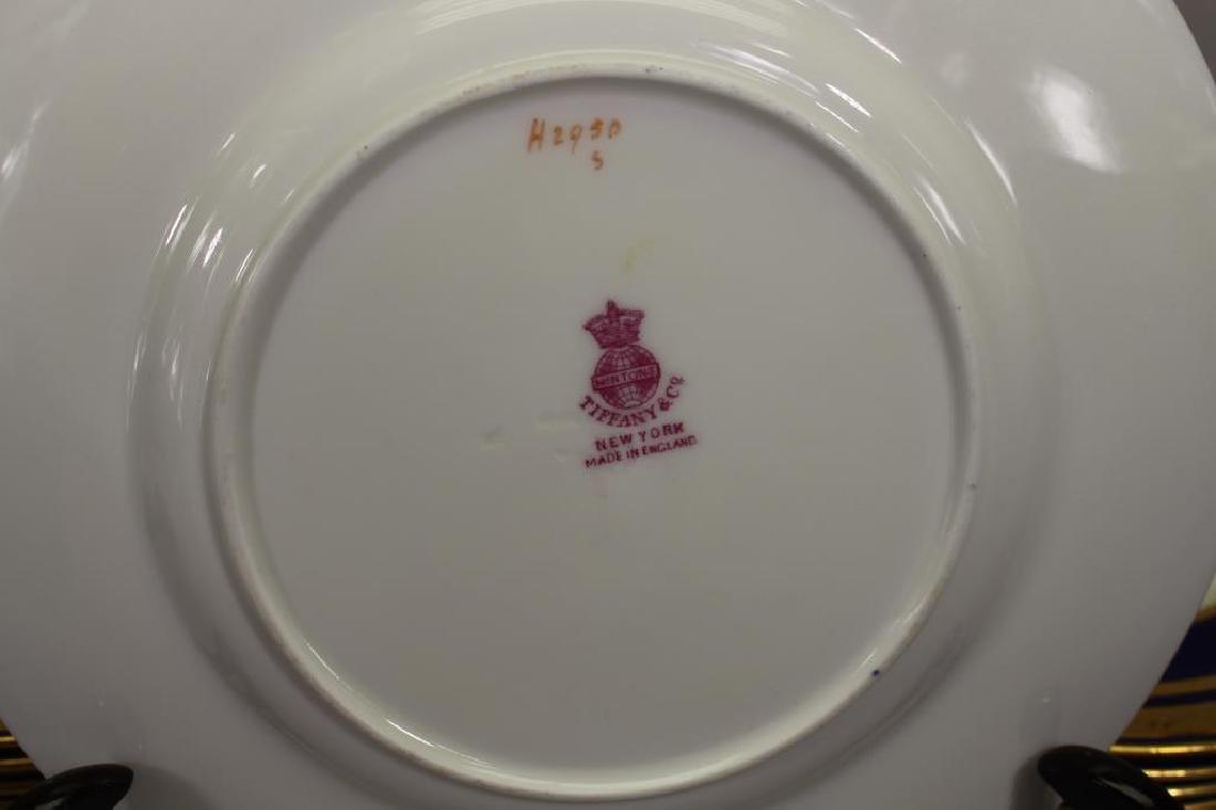 (12) Tiffany & Co. Gilt Porcelain Dishes - 4