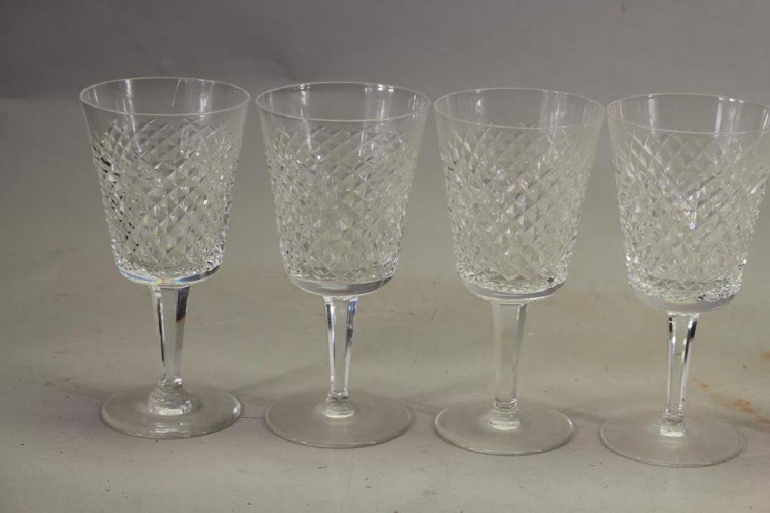 (10) Waterford Crystal Water Goblets - 2