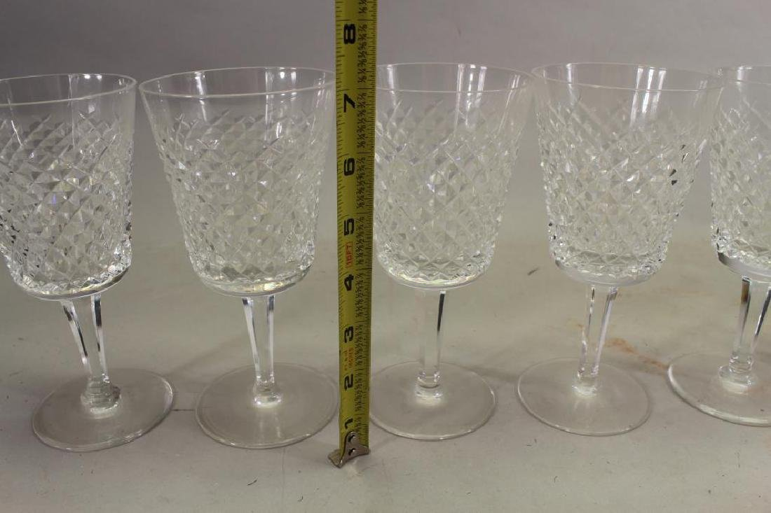 (10) Waterford Crystal Water Goblets - 3
