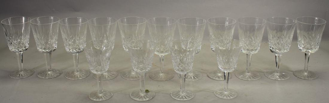 (15) Waterford Goblets, Cordials