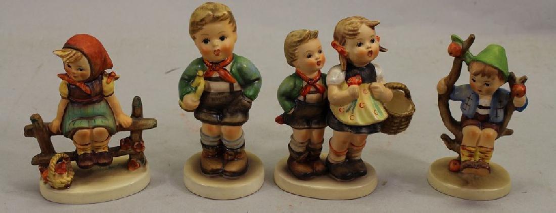 (4) Small German Porcelain Figurines
