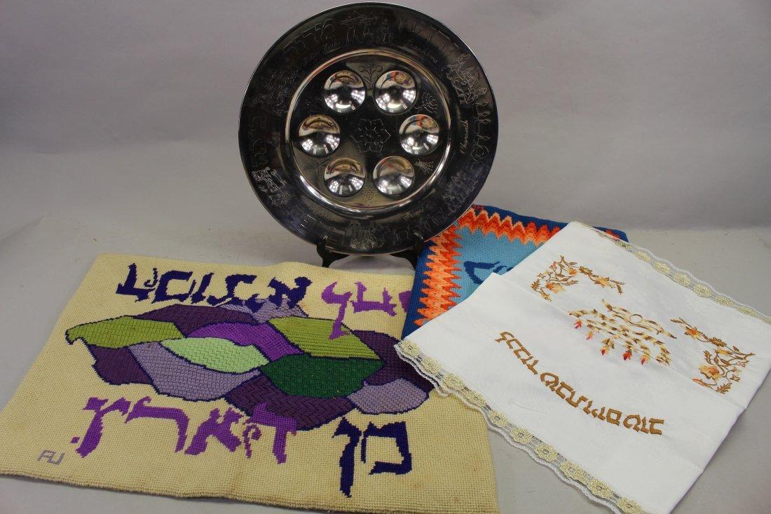 Lot of (4) Judaica Articles