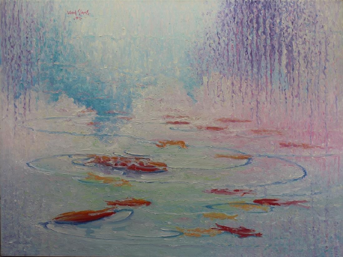 "William Leon Stacks (1928 - 1991)""Water Spirits"""