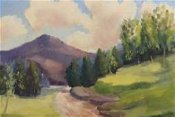 American School, Painting of a Mountain Landscape