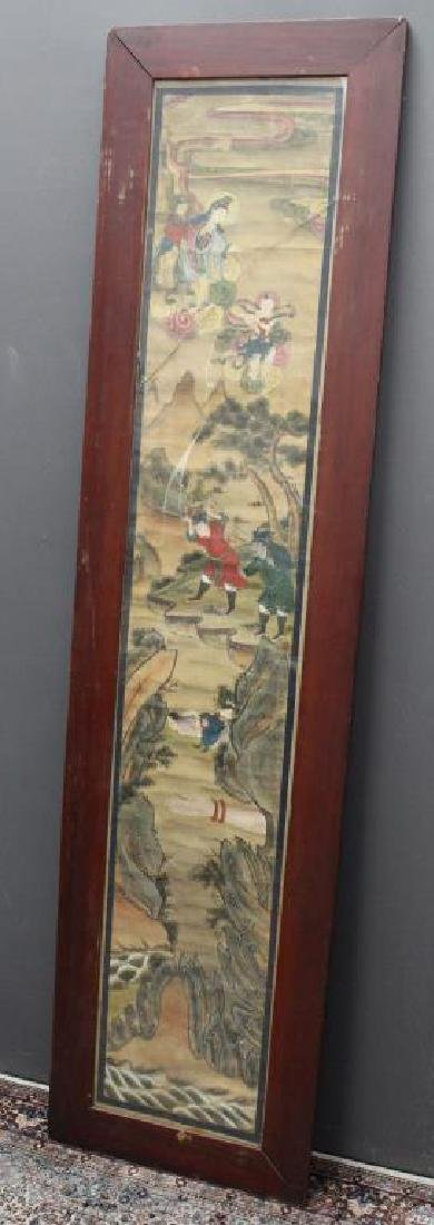 Large 18th C. Chinese Figural Painting