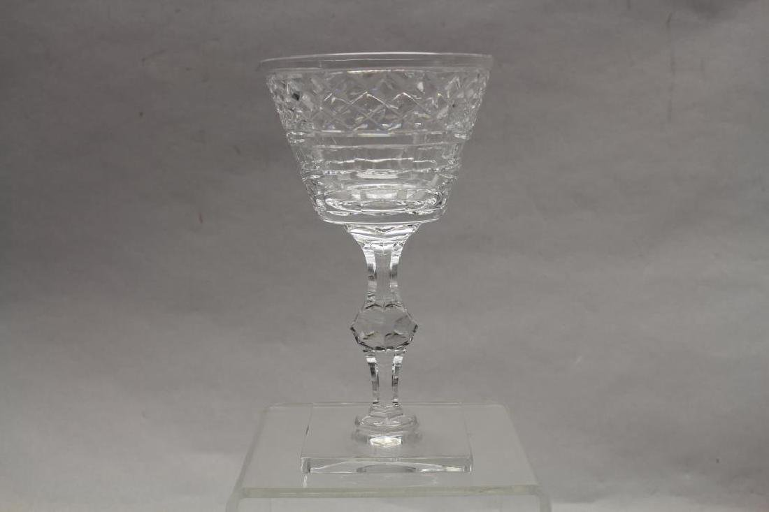 (11) Hawkes, Signed Glass Goblets - 2