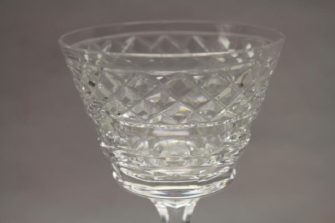 (11) Hawkes, Signed Glass Goblets - 3