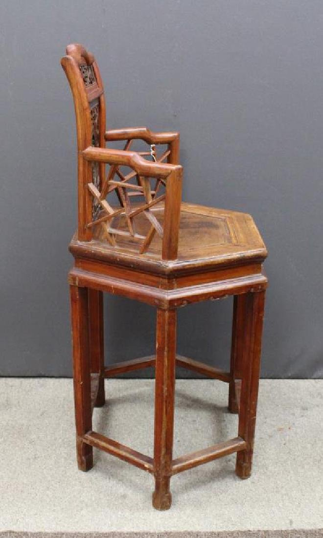Qing Dynasty Chinese Child's Chair - 5