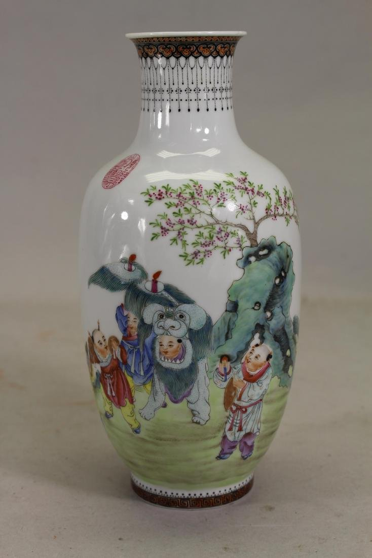 Signed, Chinese Republic Period Vase
