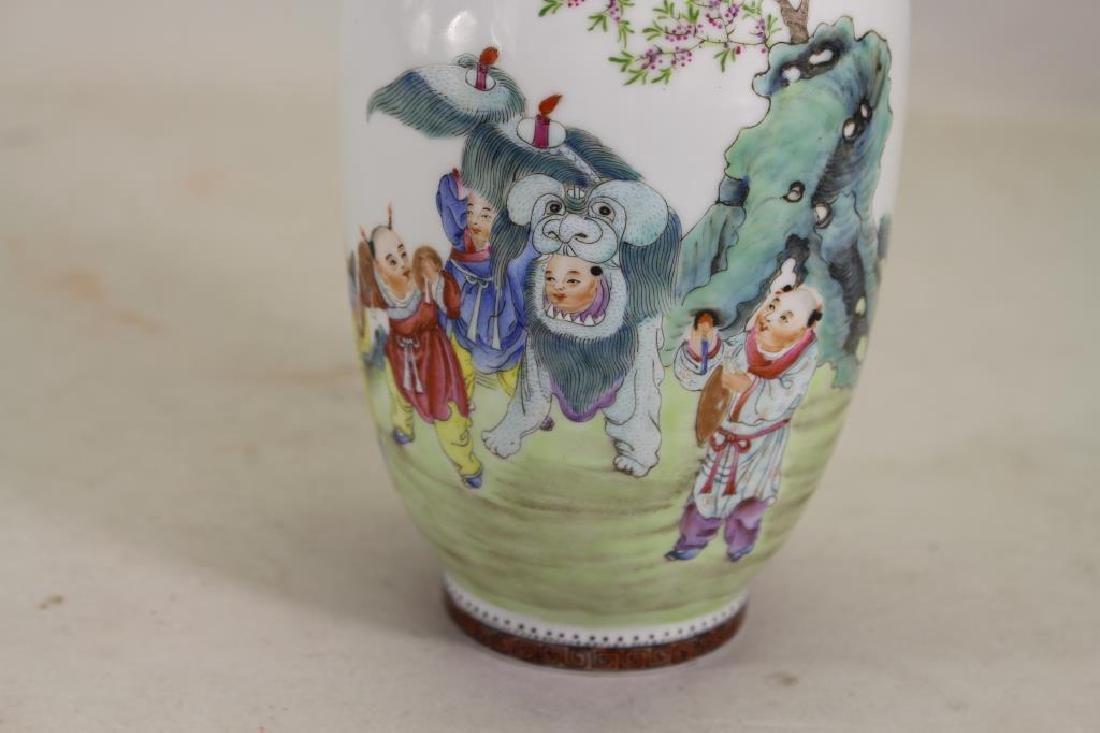 Signed, Chinese Republic Period Vase - 2