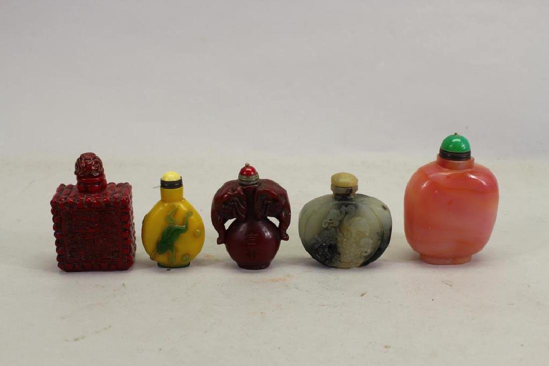 (5) Chinese Snuff Bottles