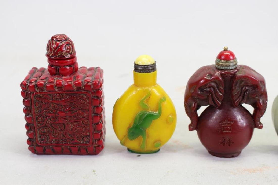 (5) Chinese Snuff Bottles - 2