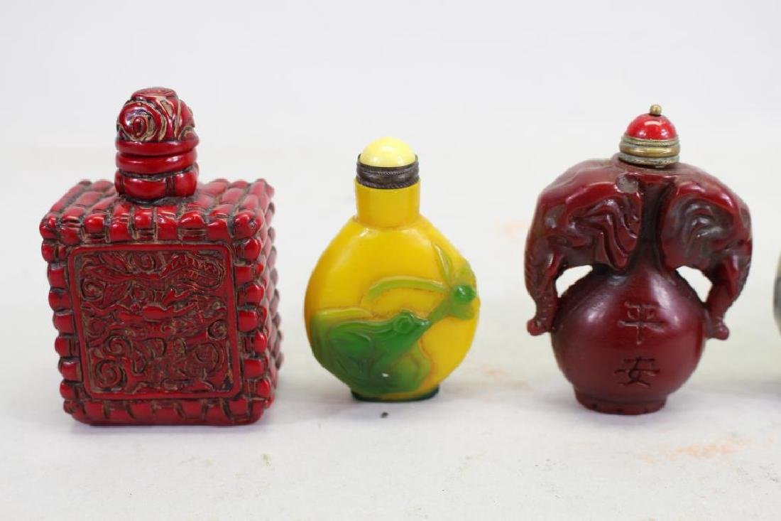 (5) Chinese Snuff Bottles - 4