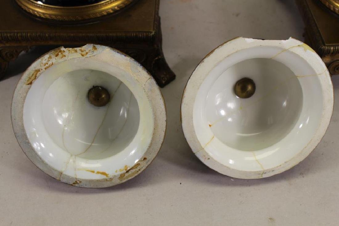 (2) Sevres Style Urns, Napoleon & Josephine - 6