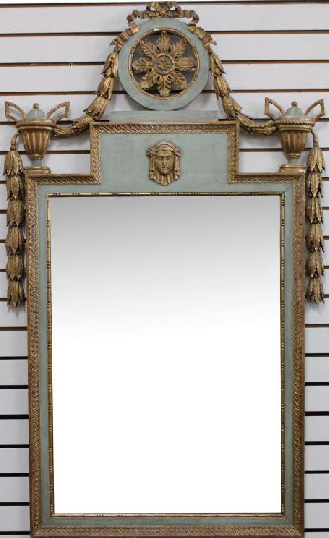 French Empire Revival Style Mirror