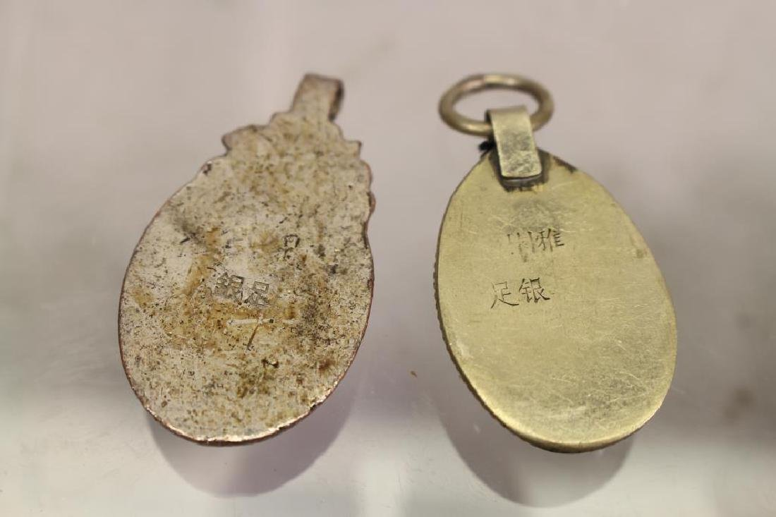 (4) Mixed Stone Jewelry Pendants - 4