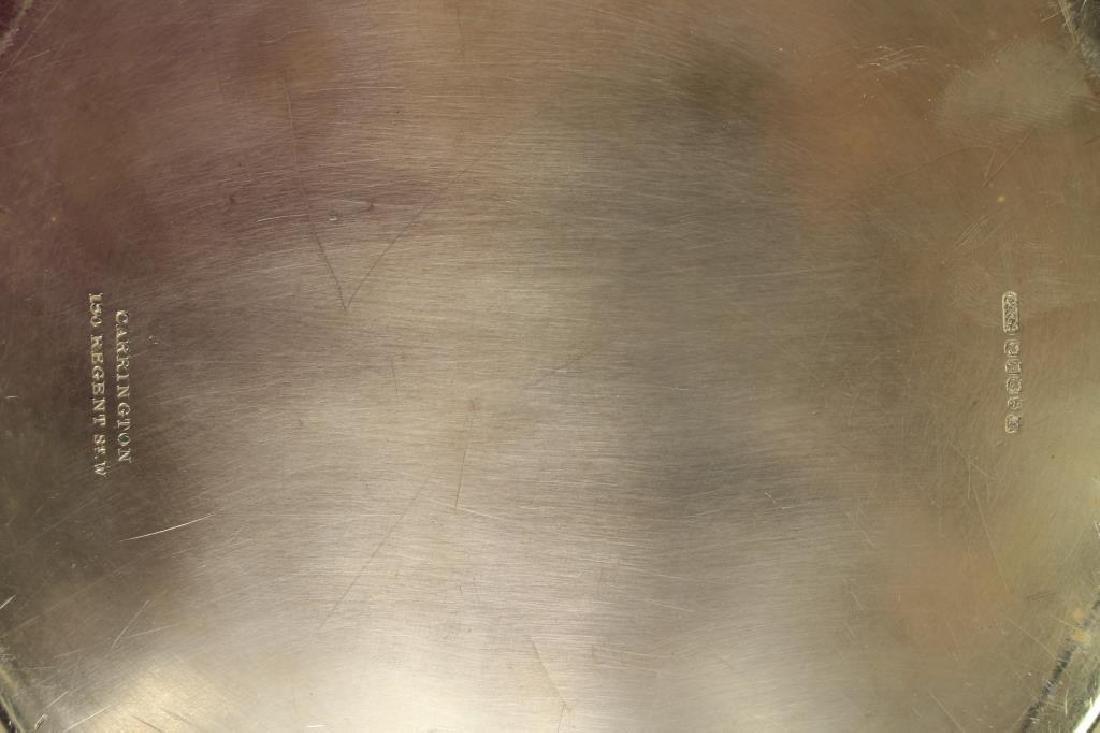 (8) Silverplate Dinner Plates - 4