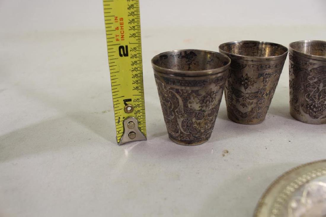 (6) Middle Eastern Silver Pieces - 7