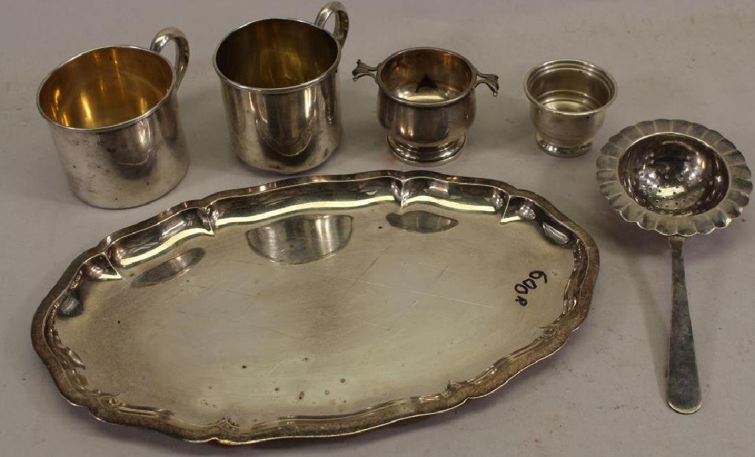 (6) Assorted Pieces of Sterling Silver