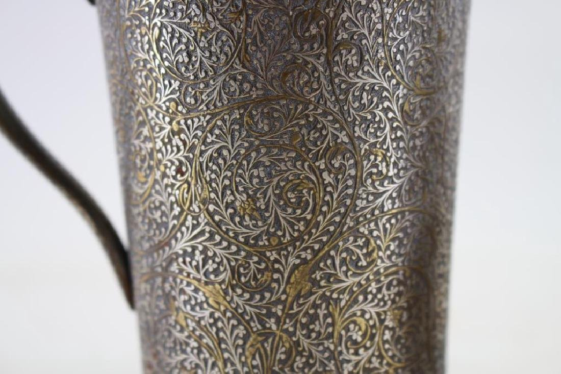 (2) Elaborately Engraved Silver Plate Cups - 2