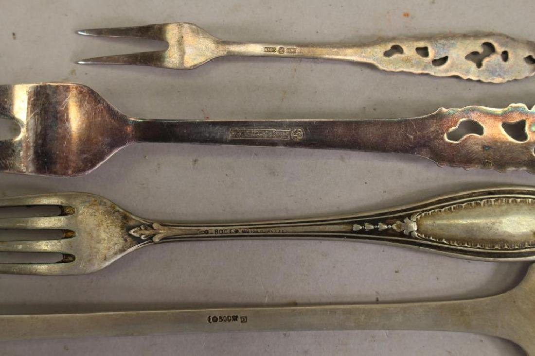 (6) Antique Sterling Silver Articles - 2