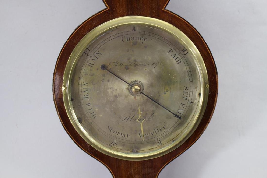 Antique Inlaid Barometer - 2