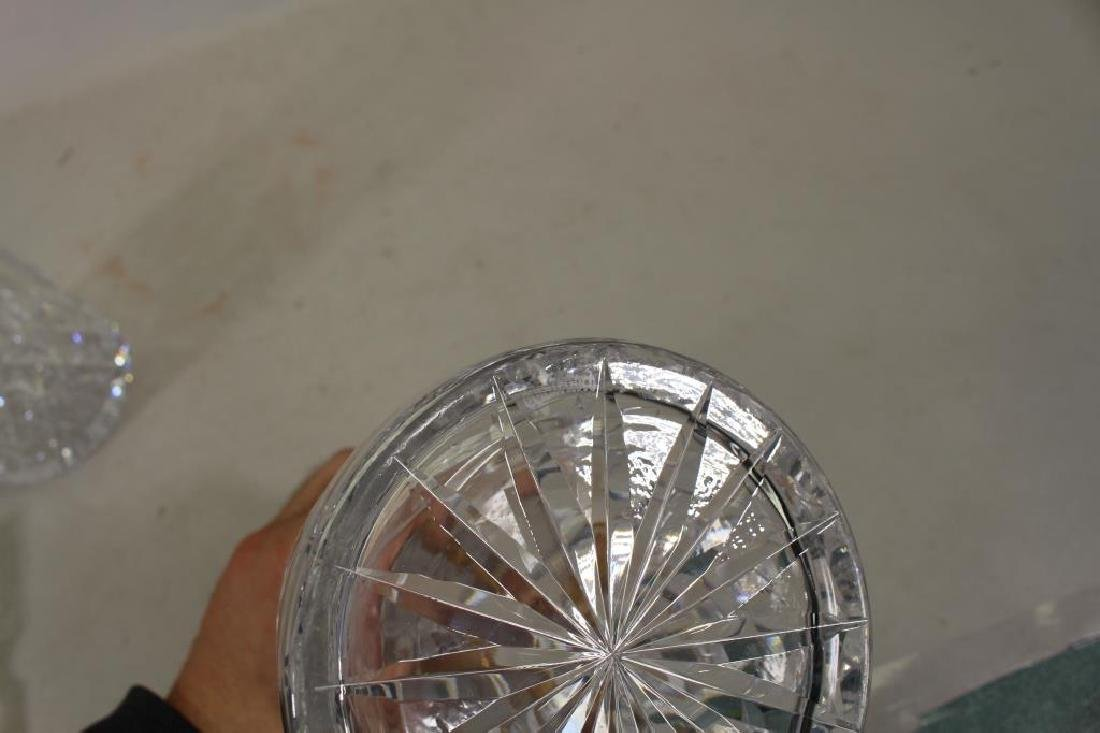 Pair of Waterford Crystal Decanters w/ Stoppers - 3