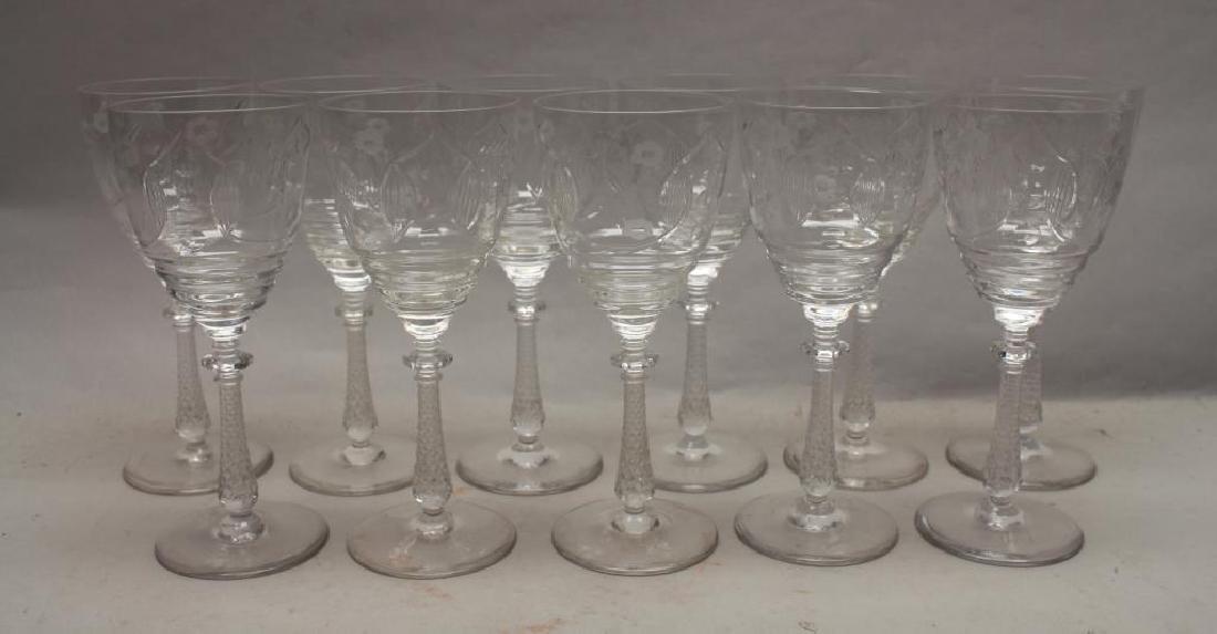 (11) Glass Goblets