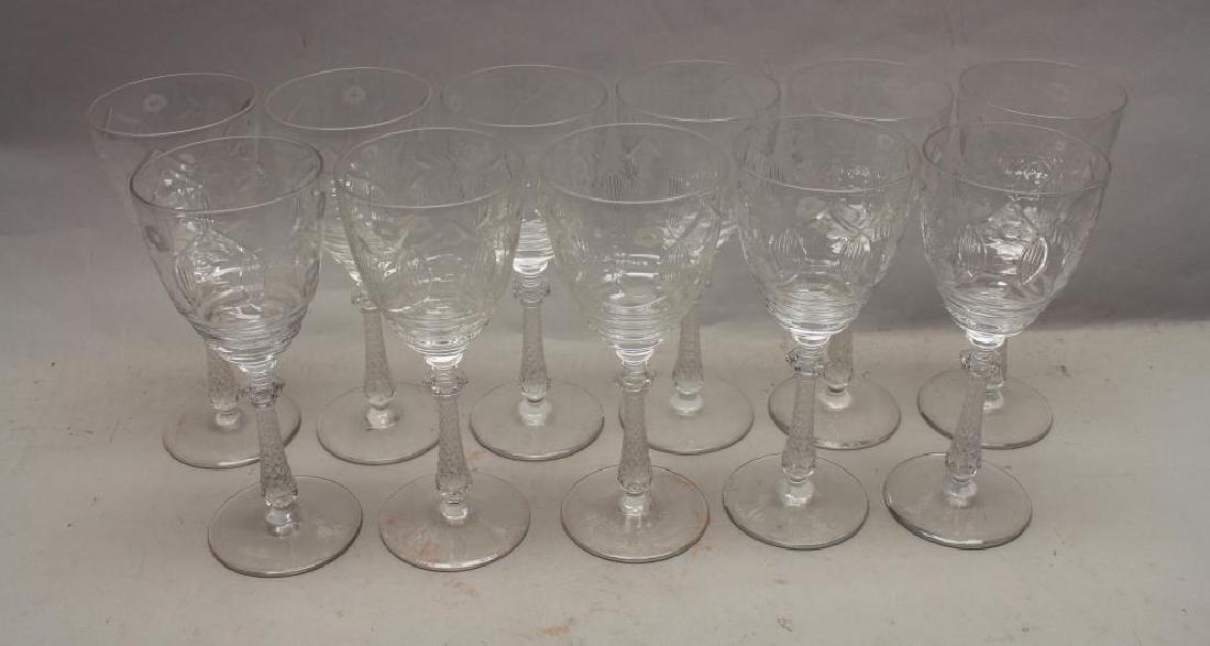 (11) Glass Goblets - 2