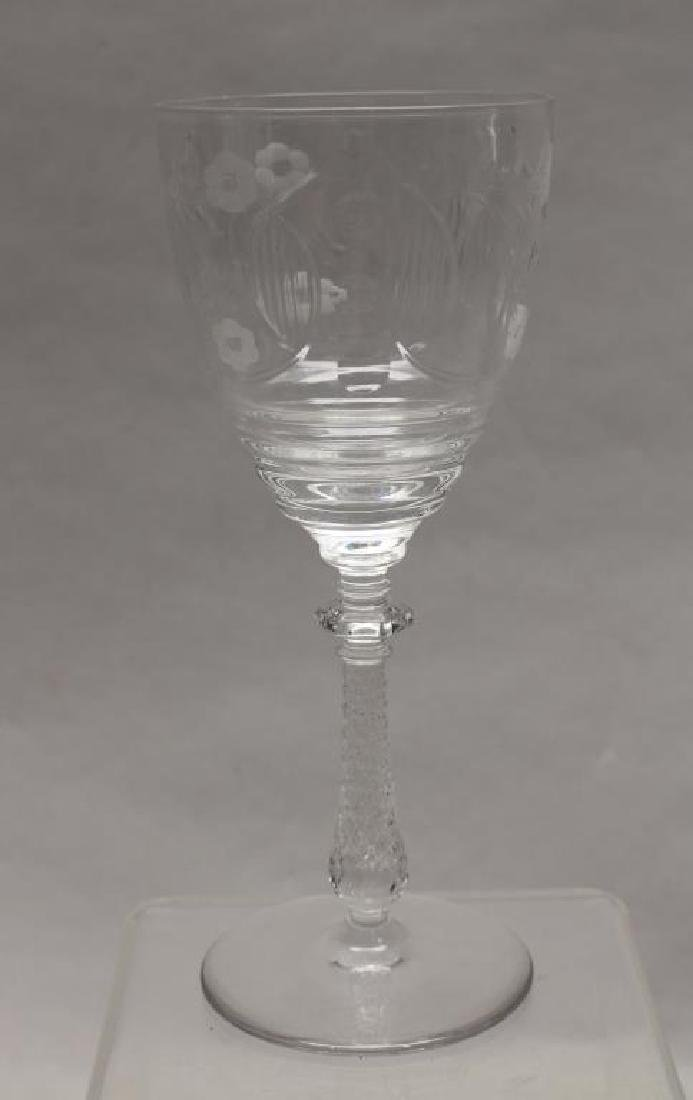 (11) Glass Goblets - 3