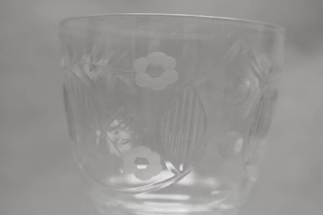 (11) Glass Goblets - 6