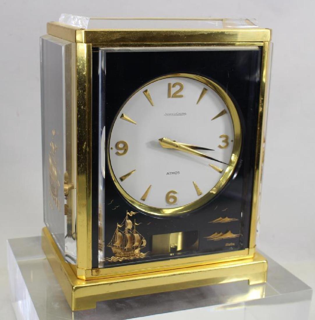 LeCoultre Atmos Clock--Black Marina