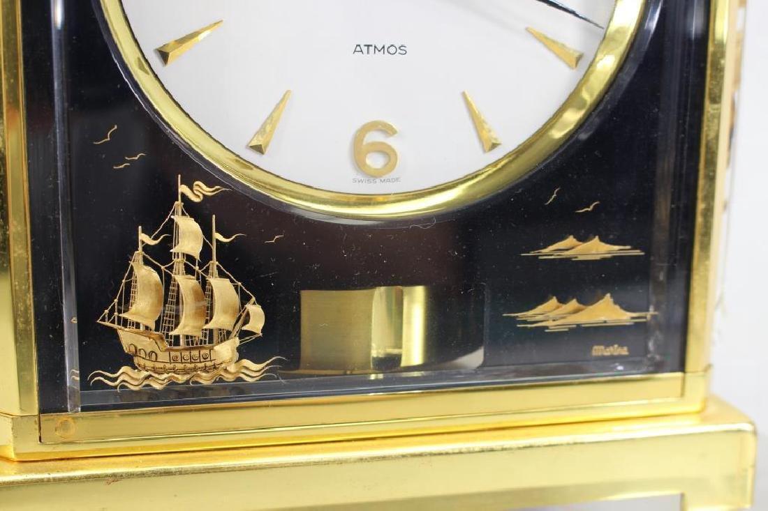LeCoultre Atmos Clock--Black Marina - 2