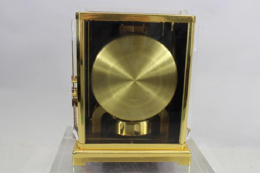 LeCoultre Atmos Clock--Black Marina - 4