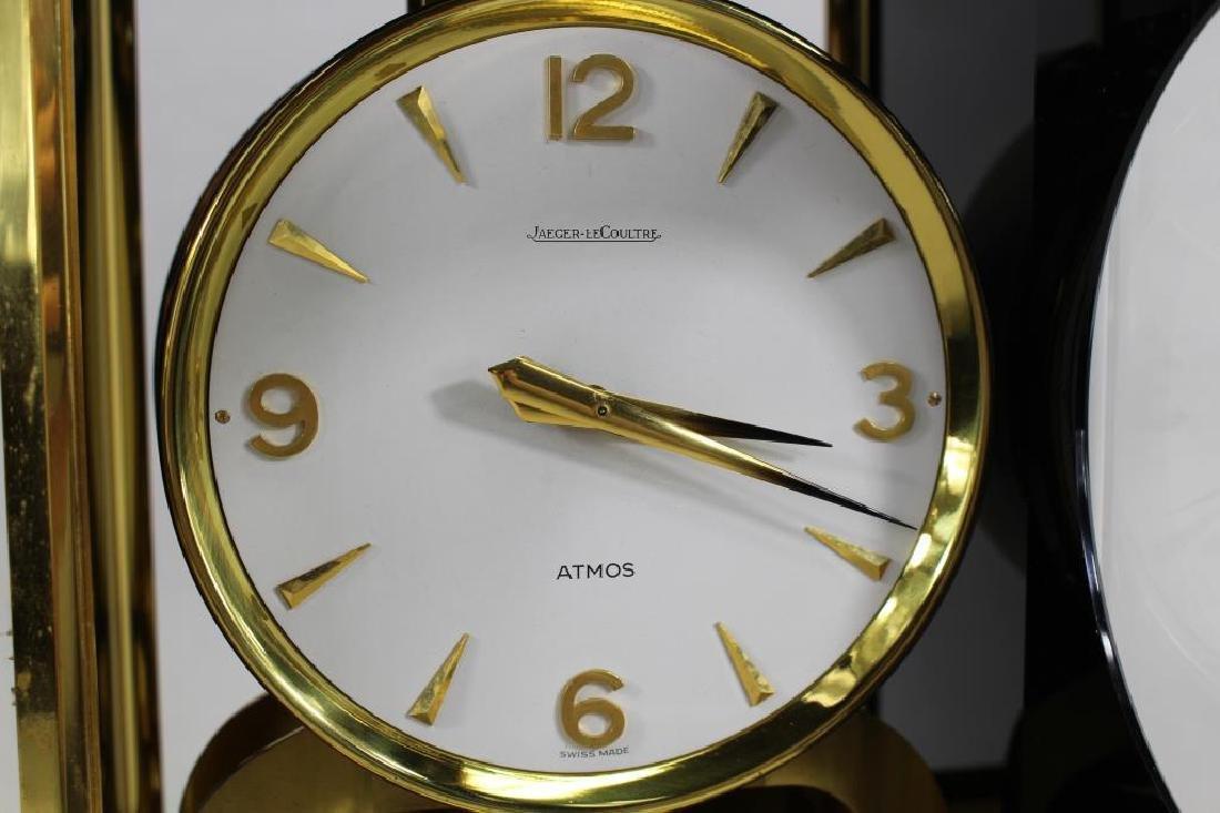 LeCoultre Atmos Clock--Black Marina - 6