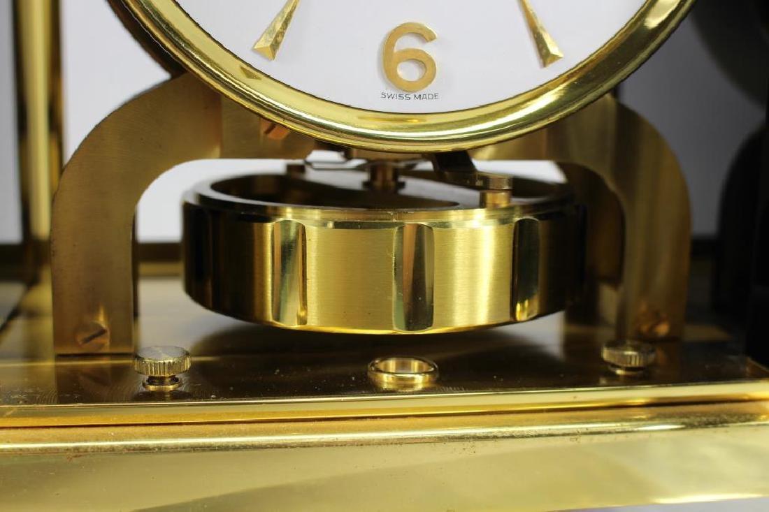 LeCoultre Atmos Clock--Black Marina - 7