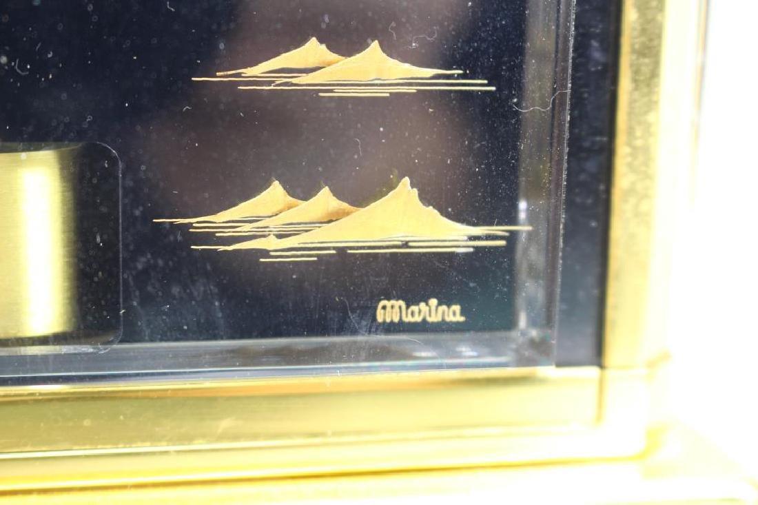 LeCoultre Atmos Clock--Black Marina - 9