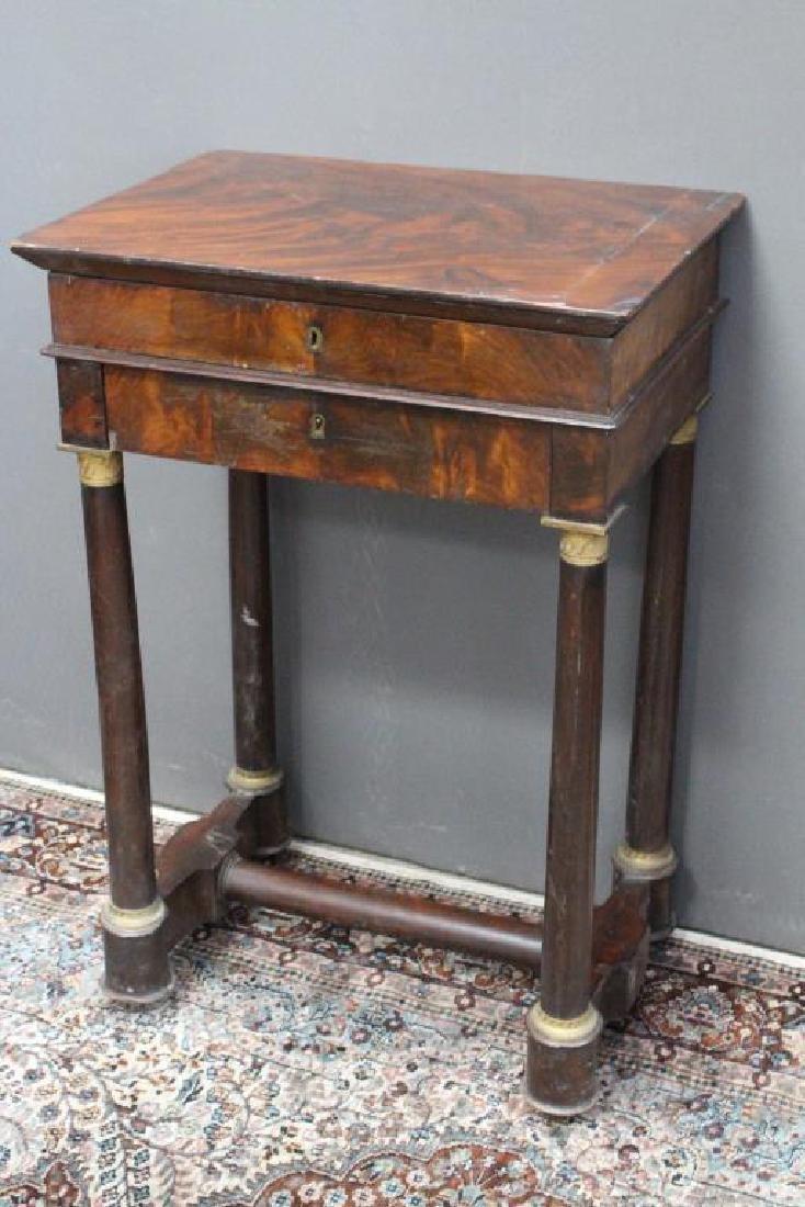 Antique Flip Top Dressing Table